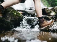 Walking Through River